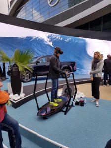 Nicht nur die VR-Surf-Simulatoren können wieder genutzt werden,...