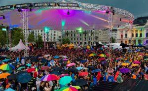 Nicht nur auf der Zürich Pride waren Magic Sky mit ihren Event-Überdachungen unterwegs.