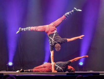 Duo Kraoul Partnerakrobatik – Sprungbrett-Preisträger 2020