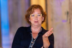 Die Geschäftsführerin von Kirberg Catering Jutta Kirberg musste von 100 Mitarbeitern durch die Krise 90 in Kurzarbeit schicken.