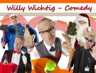 Comedian für Firmen-Events: Beste Stimmung mit Willy Wichtig