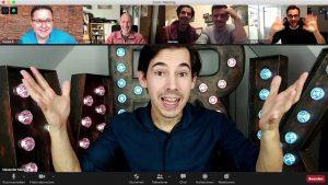 Alexander Merk verzaubert online bei seiner virtuellen Zaubershow