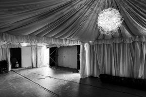 Corona-bedingt sind die Circus-Zelte im Moment leer.