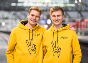 Lukas und Markus hatten die Idee zur Trace App um die Reisekostenabrechnung von Freiberuflern zu vereinfachen.