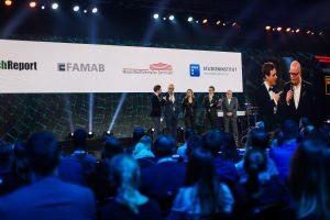 Digitale BrandEx Awardzeremonie