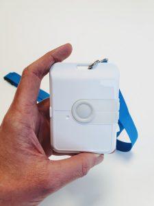 Der NAO safe hilft sichere Veranstaltungen zu planen, da Veranstalter durch ihn Besucherstöme messen und Kontakte nachverfolgen können.