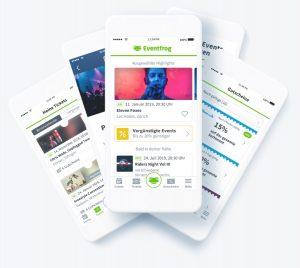 Über die Eventfrog-App lässt sich das Online-Ticketing organisieren.