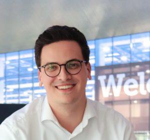 Marvin Boettcher ist Projektleiter der BOE - Internationale Fachmesse für Erlebnismarketing