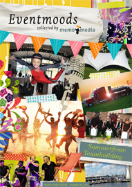 Eventmoods collected by memo-media - Sommerfeste / Teambuilding -  Ausgabe 1-2015