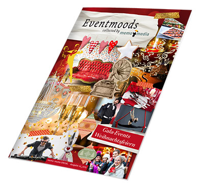 Eventmoods collected by memo-media - Weihnachtsfeiern / Gala-Events - Ausgabe 2-2015