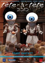 9. Internationales Straßentheaterfestival tête-à-tête 2010