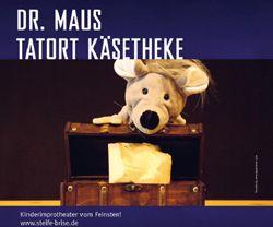 Mitmachabenteuer für Kinder 'Dr. Maus - Tatort Käsetheke'