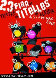 23ª Fira de Teatre de Titelles de Lleida in Spanien 2012