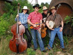 'Knock on wood' Bluegrass-Konzert
