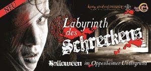 Labyrinth des Schreckens - Halloween 2012