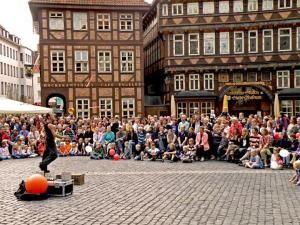 Pflasterzauber - Hildesheimer Straßenkunst und Straßenmusik Festival
