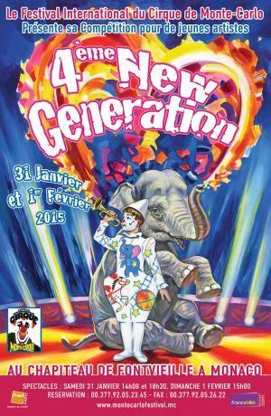 4. Festival New Generation für junge Artisten