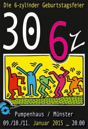 30 6z- Die 6-Zylinder Geburtstagsparty