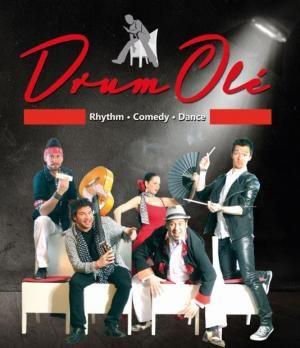 Premiere der ersten offiziellen Drum Olé Show