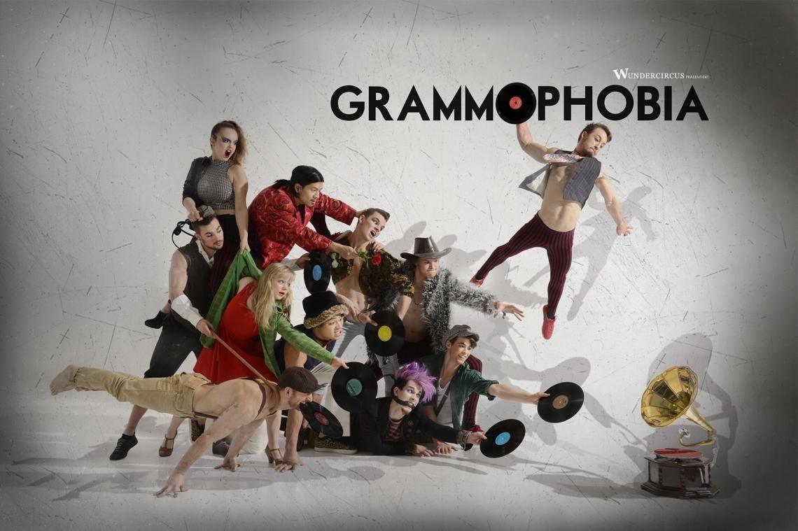 GRAMMOPHOBIA - Die Absolventenshow der staatlichen Artistenschule Berlin 2015