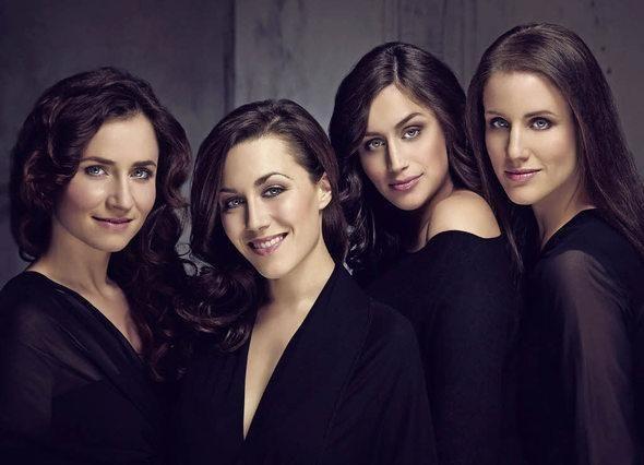 """Vorhang auf"""" für ein fantastisches Konzert des A-Cappella- Quartett Les Brünettes"""