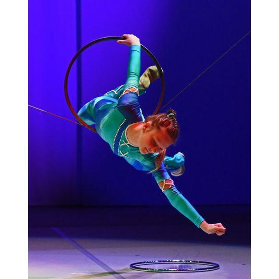 Der European Youth Circus findet alle zwei Jahre statt. Irina Novikova im Jahr 2014
