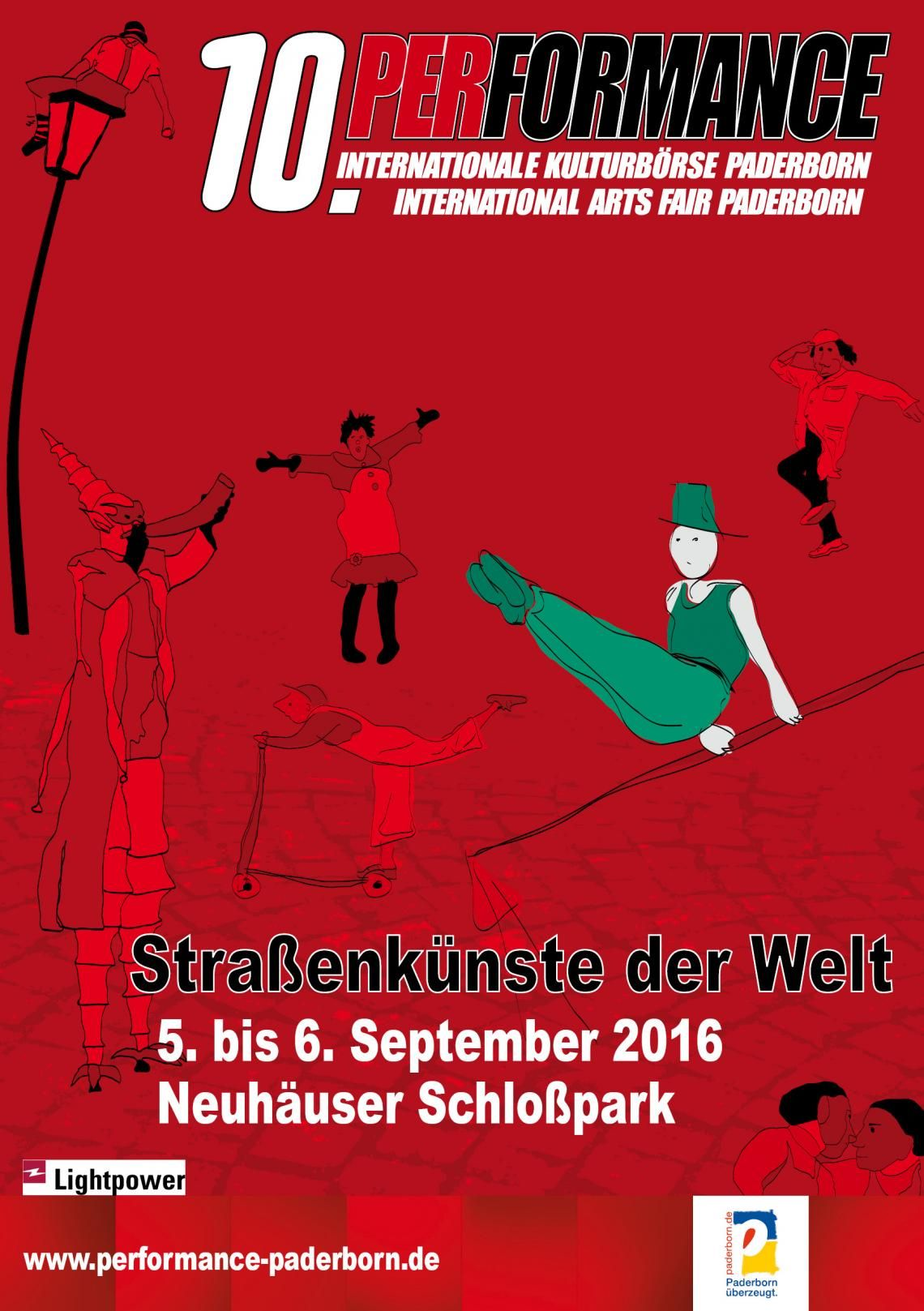 Performance 2016 Internationale Börse für Kunst und Kultur im öffentlichen Raum / International Marketplace for Arts and Culture in public spaces