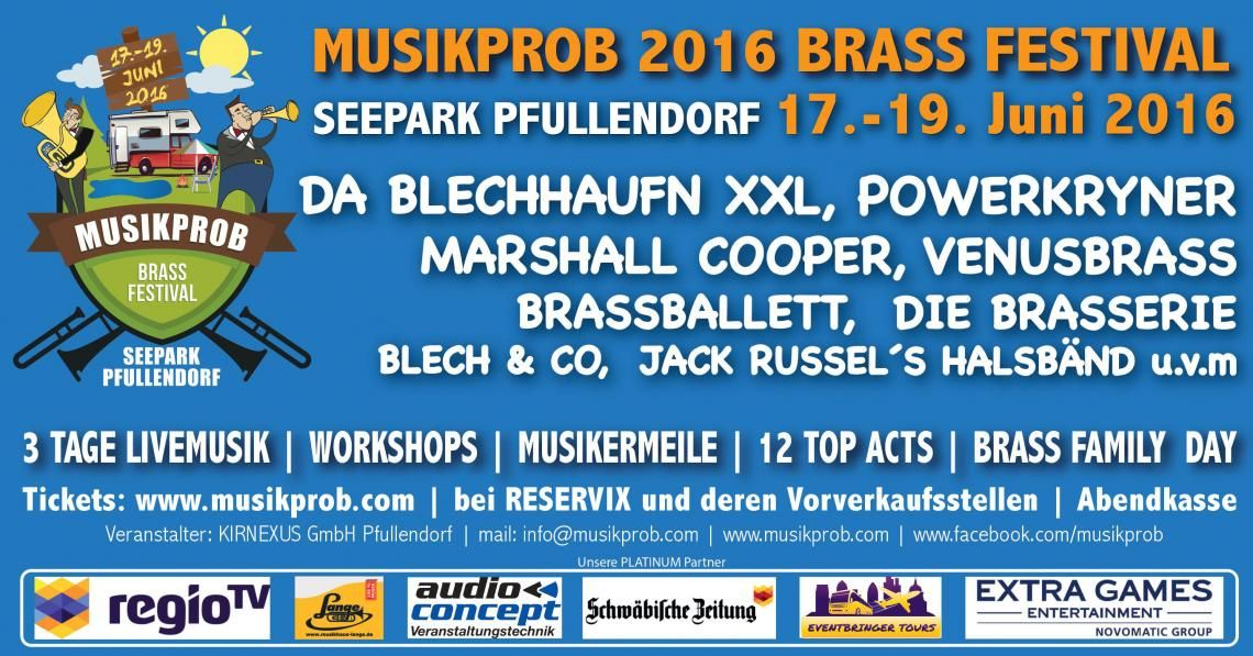 Musikprob 2016 - Brass Festival