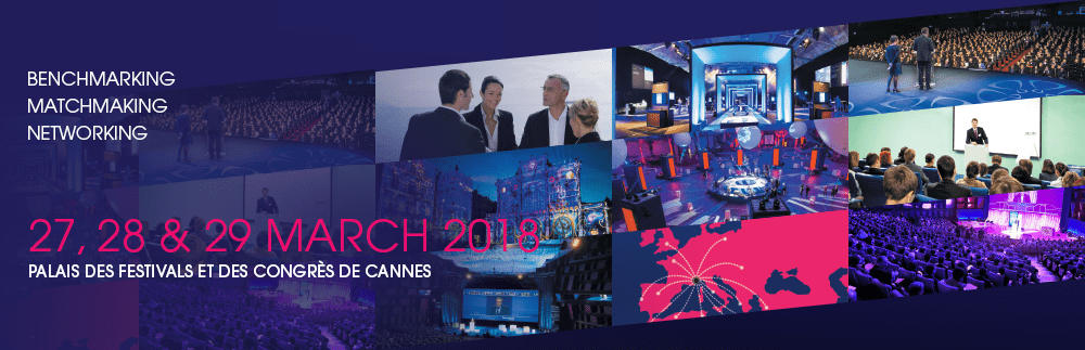 HEAVENT MEETINGS / PALAIS DES FESTIVALS IN CANNES – 27. bis 29. März 2018