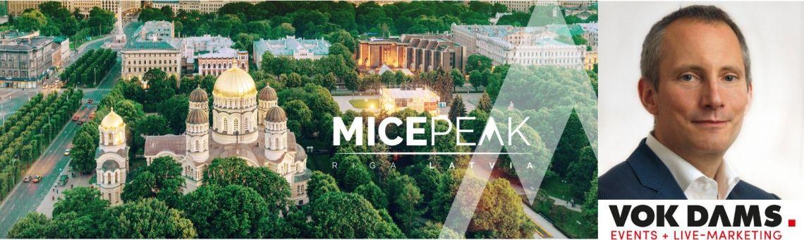Der MICE PEAK 2019 in Riga - die internationale Fachveranstaltung für die Eventbranche