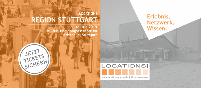 LOCATIONS Messe Region Stuttgart