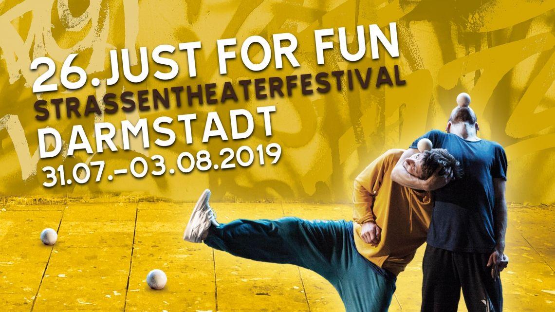 Just for Fun Straßentheaterfestival Darmstadt 2019
