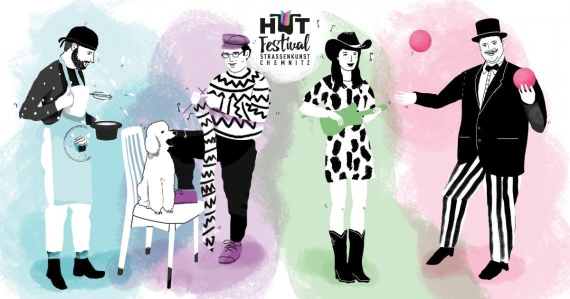 Hutfestival - Festival der Straßenkunst in Chemnitz