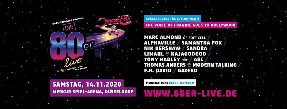 Die 80er live - Düsseldorf