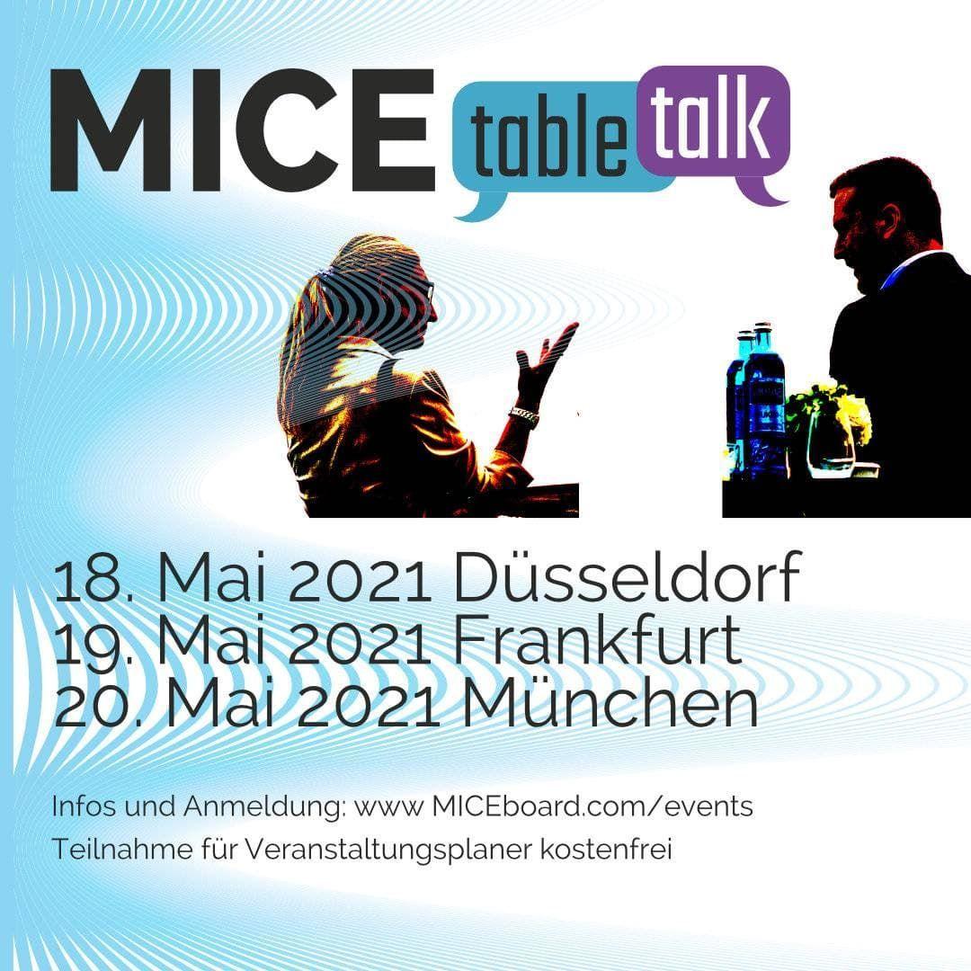 MICEboard TABLE TALK Düsseldorf
