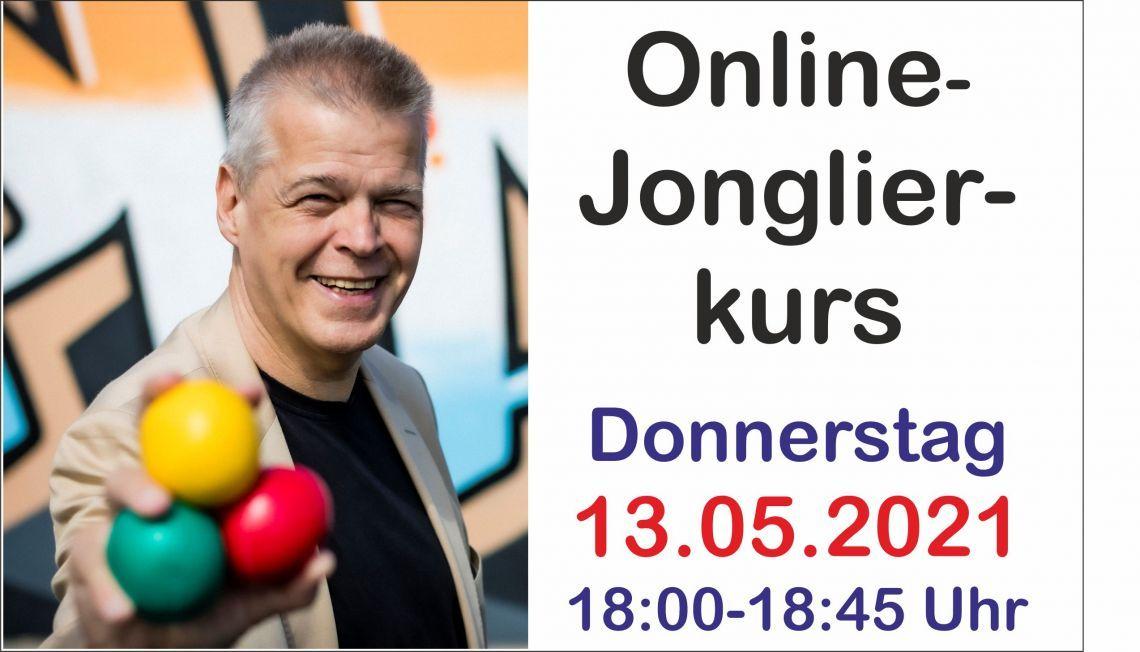 Online-Jonglierkurs für Anfänger - Kostenfrei
