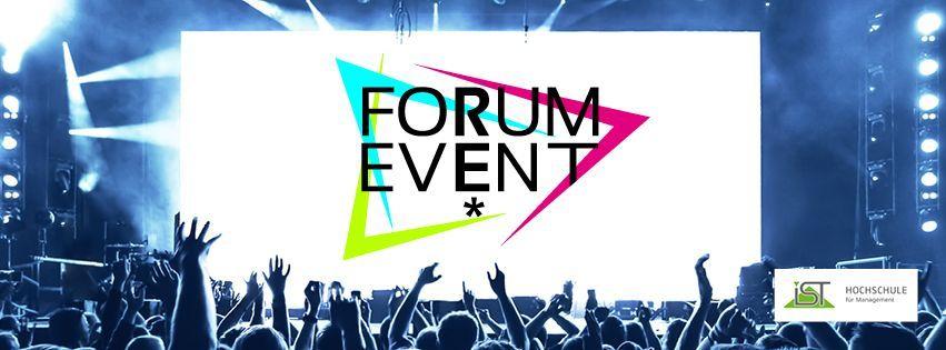 FORUM EVENT - Hybridkongress für den Event-Nachwuchs
