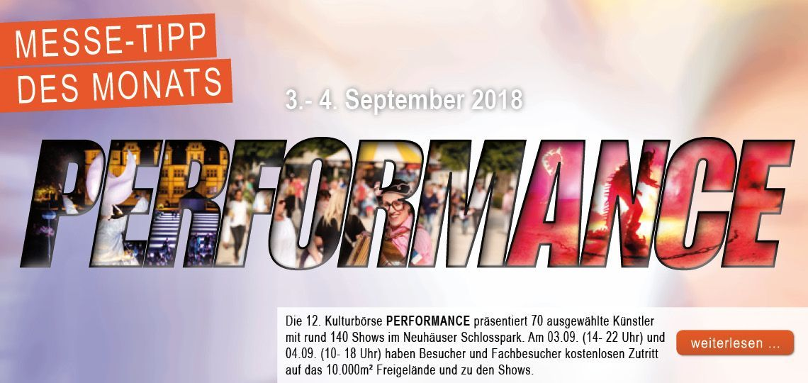 127908_August_Messe-Tipp-des-Monats: Performance