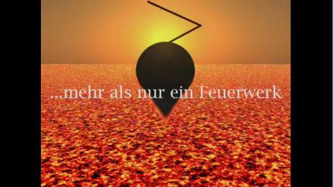Video: Christa Hübner Feuerwerk - Kunst aus Feuer