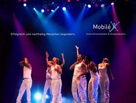 Mobilé Banner Mobilé Unternehmenstheater & Showproduktion