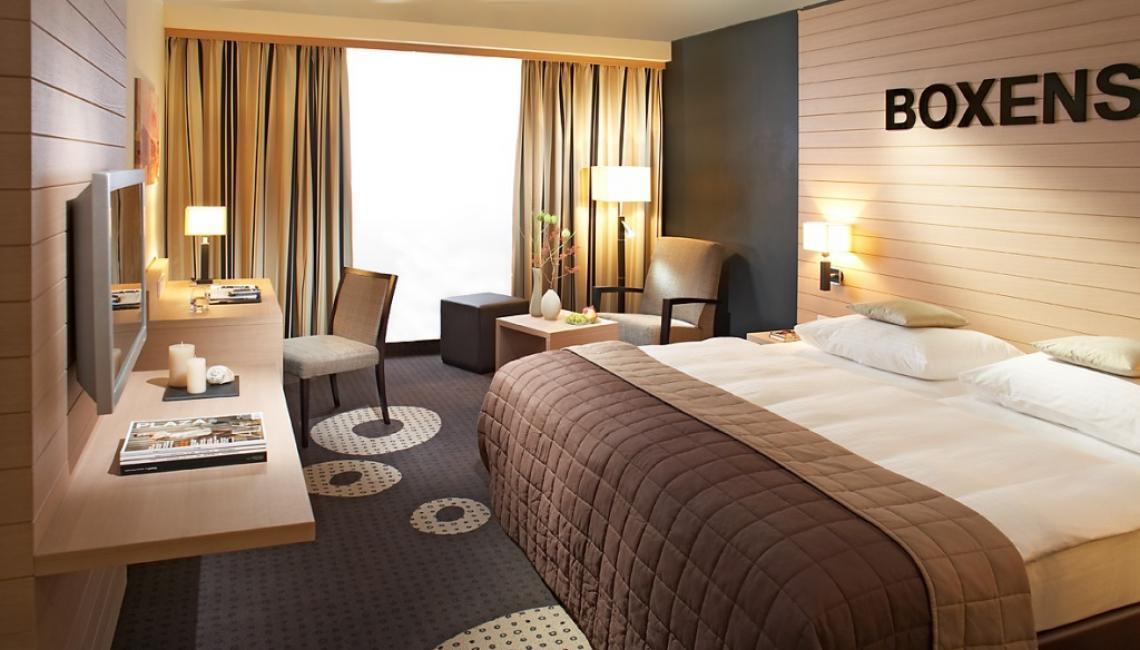 Hotelzimmer im Lindner Congress & Motorsport Hotel