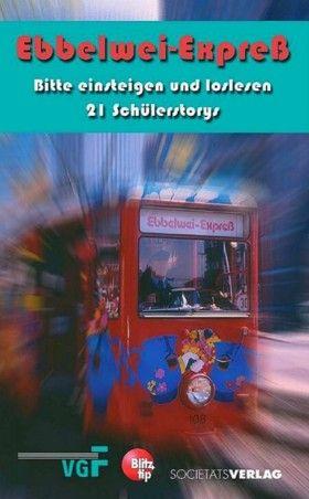 30 Jahre Ebbelwei-Expreß Zum 30 jährigen Jubiläum des Ebbelwei-Expreß haben wir für die VGF in Kooperation mit dem Blitz-Tip einen Kurzgeschichten-Wettbewerb unter Frankfurter Schülerinnen und Schülern ausgeschrieben. Herausgekommen ist ein Taschenbuch mit 21 spannenden, lustigen, liebevollen und phantasievollen Geschichten.