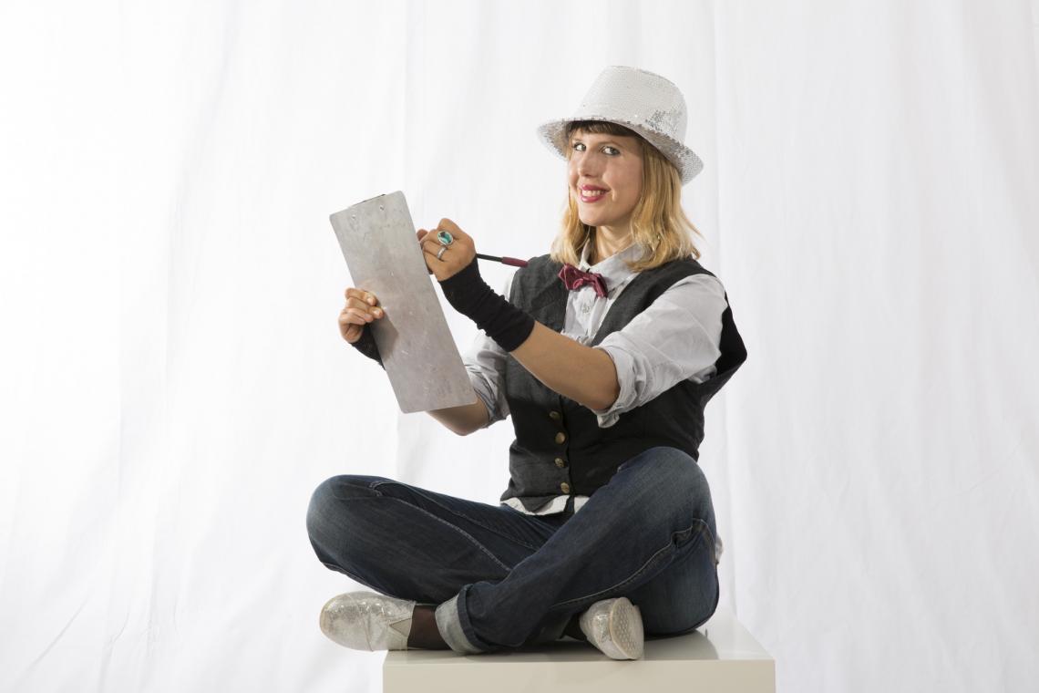 Corinne Sutter Speedpainting und Karikaturen - mehr unter www.starlightshow.com