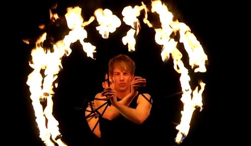 Inmoton Showtrailer - Yo-Yo UV-fireshows
