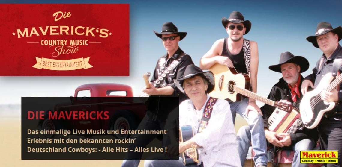 Mavderick - Band ; Solo, Duo, TRio Musik für große und kleine Events