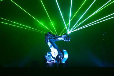 Laser-Roboter Laser-Roboter