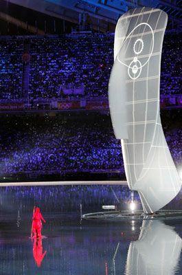 'Cycladic Head' zu den Olympischen Sommerspielen 2004 in Athen 'Cycladic Head' zu den Olympischen Sommerspielen 2004 in Athen