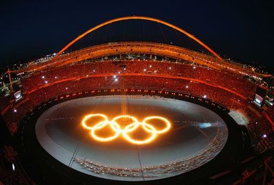 Eröffnungsfeier der Olympischen Spiele 2004 in Athen Eröffnungsfeier der Olympischen Spiele 2004 in Athen