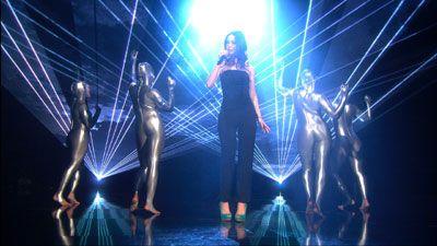 Lasereffekte zu Lenas Siegertitel 'TAKEN BY A STRANGER' Lasereffekte zu Lenas Siegertitel 'TAKEN BY A STRANGER'