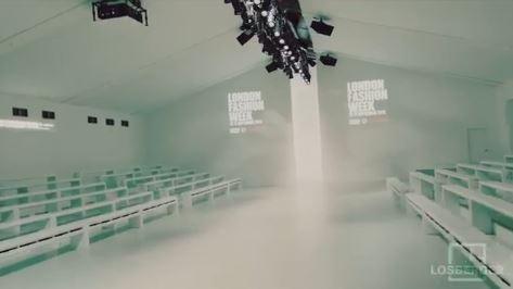 Losberger auf der London Fashion Week